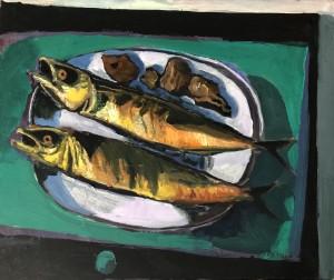 Makrelen auf Grün ⋅ 1992 Image