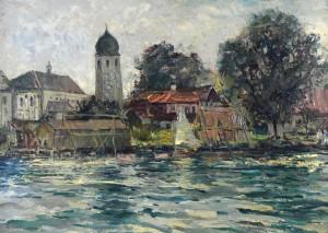 Fraueninsel - Ostseite ⋅ 1950 Image