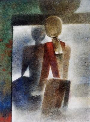 Vor dem Spiegel ⋅ um 1970 Image