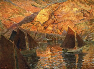Abendsonne (Bretagne) ⋅ 1898 Image