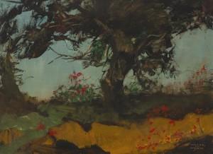 Die einsame Kiefer ⋅ um 1940 Image