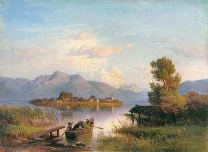 Überfahrt zur Fraueninsel ⋅ 1863 Image