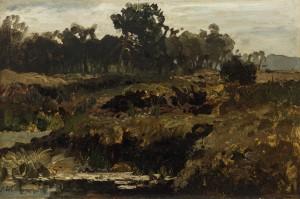 Moorlandschaft ⋅ um 1880 Image