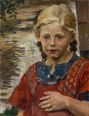Mädchenbildnis ⋅ um 1920 Image