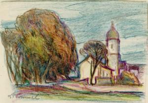 Oberbayerisches Dorf Image