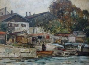 Beim Heistracher auf der Fraueninsel ⋅ 1947 Image