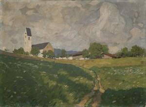 Kirche von Steinkirchen (Samerberg) ⋅ 1916 Image