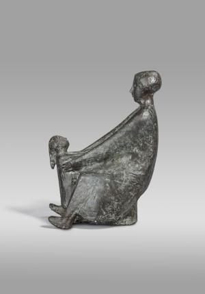 Mutter mit Kind, sitzend ⋅ 1964 Image
