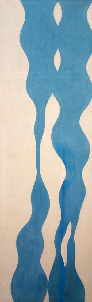 Blaue Doppelsäulen - Variation gedreht ⋅ 1970 Image