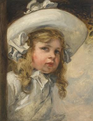 Doris, Tochter des Künstlers ⋅ 1901 Image