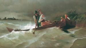 Stürmische Überfahrt ⋅ 1902 Image