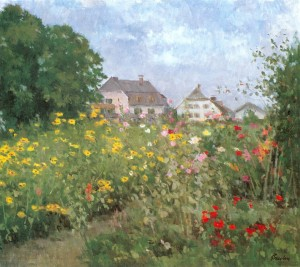 Sommer auf der Fraueninsel ⋅ um 1890 Image