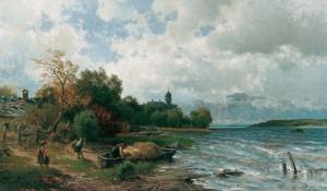 Heimkehr (Frauenchiemsee) ⋅ 1875 Image