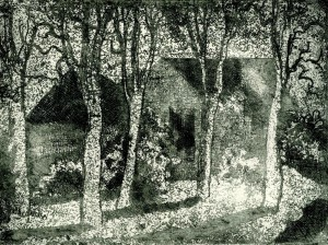 Bäume am Haus ⋅ 1990 Image