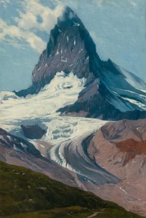 Matterhorn von der Riffelalp ⋅ 1903 Image