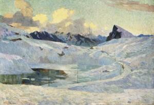 Bernina-Passhöhe ⋅ 1902 Image