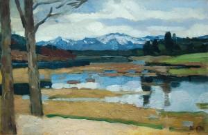 Kampenwand (Chiemsee) ⋅ um 1911 Image