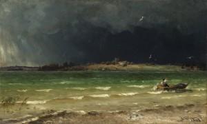 Gewitter am Chiemsee ⋅ 1887 Image