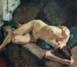 Liegender Akt ⋅ 1923 Image