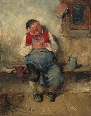 Wirt, eingeschlafen ⋅ 1889 Image