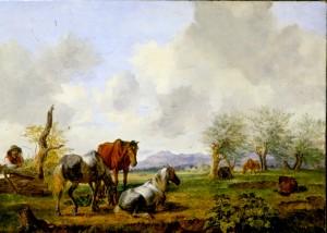 Pferdeweide ⋅ um 1827 Image