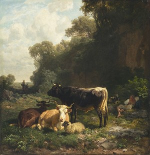 Hirtenidyll ⋅ 1866 Image