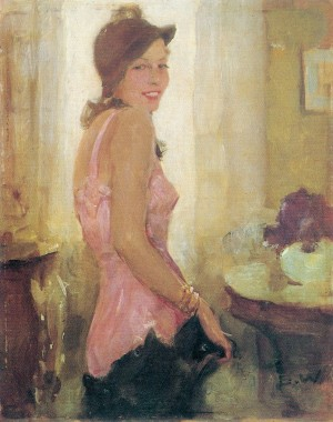 Beim Ankleidern (Käthe Berger) ⋅ um 1935 Image