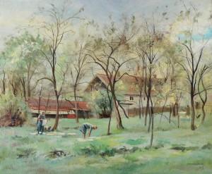 Motiv aus Gstadt am Chiemsee ⋅ 1947 Image