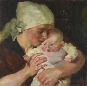 Mutter mit Kind ⋅ um 1925 Image