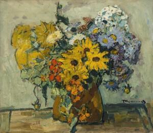 Sommerblumenstrauß ⋅ um 1920 Image