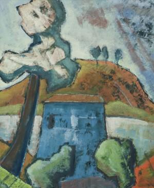 Das blaue Haus ⋅ 1931 Image