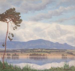 Blick über den Simssee ⋅ um 1935 Image