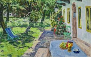 Sommer am Haus (Feldwies) ⋅ um 1960 Image