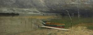 Boot am Chiemsee ⋅ um 1900 Image