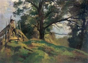 Hütebub bei Pang ⋅ 1878 Image