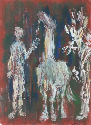 Mann mit Pferd ⋅ um 1960 Image