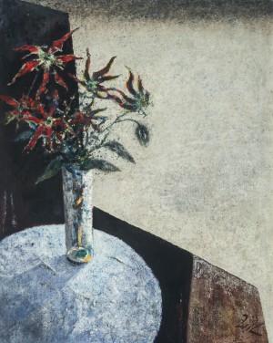 Tischstillleben mit Blumen ⋅ 1971 Image