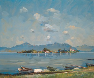 Am Gstadter Ufer ⋅ um 1924 Image