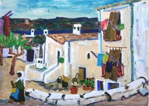 Griechisches Dorf ⋅ um 1960 Image