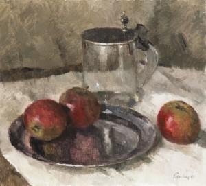 Stillleben mit Äpfeln ⋅ 1988 Image