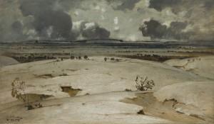 Winter im Erdinger Moos ⋅ 1908 Image