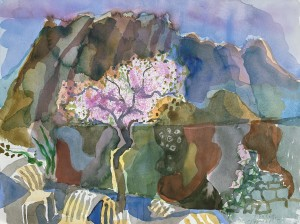 Mandelblüte bei Ayacata, Gran Canaria ⋅ 1996 Image
