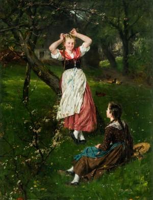Im Frühling I ⋅ um 1879 Image