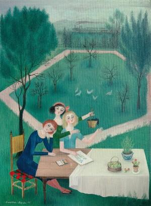 Fröhliche Runde ⋅ 1955 Image