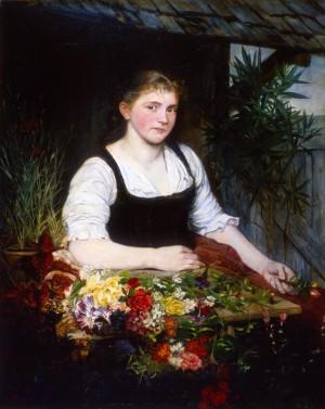 Fischersfrau von Frauenchiemsee ⋅ 1880 Image