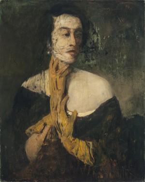 Die gelben Handschuhe (Bildnis meiner Tochter Sitta) ⋅ um 1920 Image