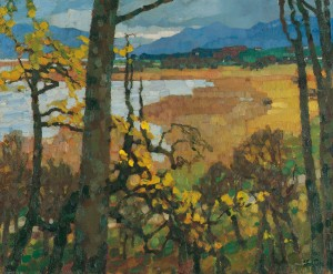 Herbst am Chiemsee ⋅ 1907 Image