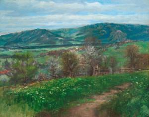 Frühling bei Litzldorf ⋅ um 1903 Image