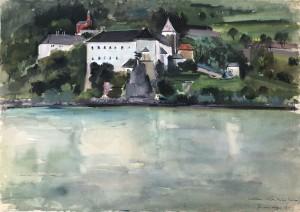 Kloster Schönbühel an der Donau in der Wachau ⋅ 1938 Image