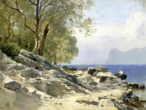 Ufer am Gardasee ⋅ um 1890 Image